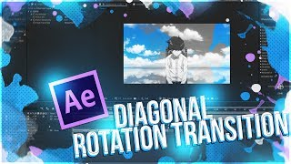 After Effects - AMV Tutorial : Slide Spin Transition - Music