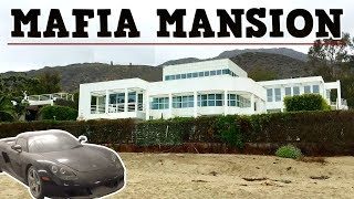 Mafia Bosses $17,000,000 Abandoned Mansion With Indoor Pool & Very Rare Car