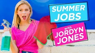 JORDYN JONES CAR WASH CHALLENGE | Summer Jobs w/ Jordyn Jones