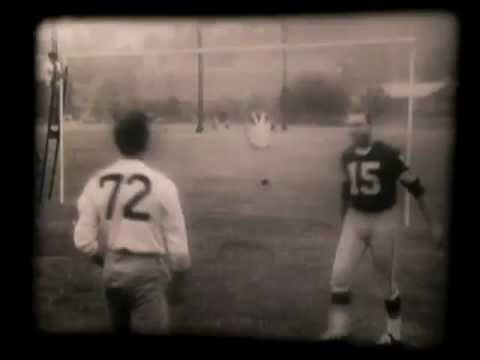 Vintage 1950's Hair Product Commercial with Bart Starr and Sam Wade