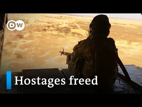 French Special Forces rescue four hostages in Burkina Faso | DW News