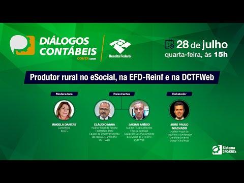 Diálogos Contábeis: Produtor rural no eSocial, na EFD-Reinf e na DCTFWEb