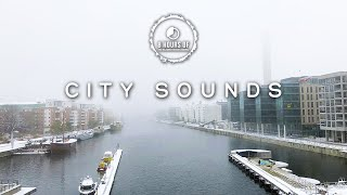City sounds white noise to fall asleep faster | 8 Hours of City Noise and City Ambience