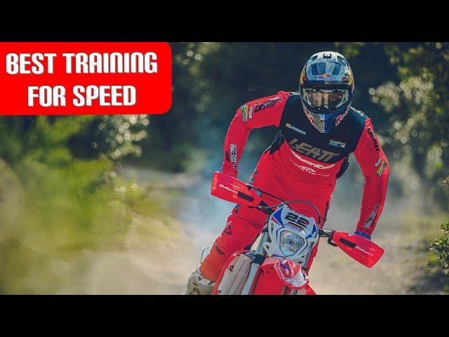 Travail vitesse hard-enduro par Jonny Walker