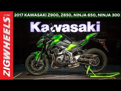 Kawasaki Z900   Ninja 650   Z650   Ninja 300   Versys 650 - First Look Video
