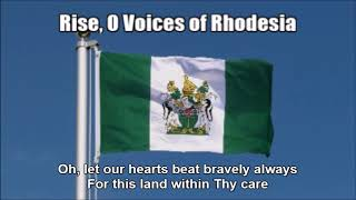 Rhodesian National Anthem (Rise, O Voices of Rhodesia) - Nightcore Style With Lyrics