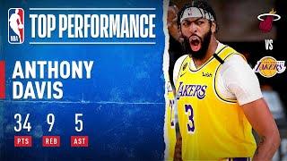 Anthony Davis' Game 1 MASTERPIECE 🔥 (34 PTS, 9 REB) | 2020 #NBAFinals