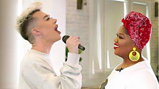 James Charles - LISTEN Beyoncé w/ Vocal Coach