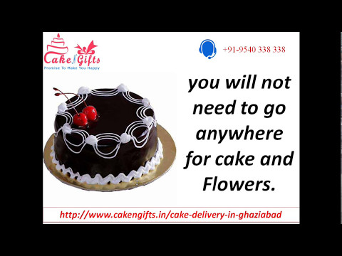 Same day Online Cake Delivery in Ghaziabad through CakenGifts.in