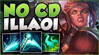 ESSENCE REAVER + ILLAOI = PERMA SLAM ILLAOI?? ILLAOI SEASON 8 TOP GAMEPLAY! - League of Legends