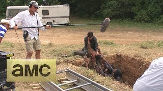 (SPOILERS) Making of Episode 407 The Walking Dead: Dead Weight