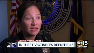 Identity theft victim: 'It's been hell'