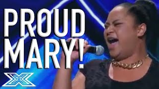 """Young Drag Queen Ashley Tonga Has A PARTY On Stage Singing """"Proud Mary"""" 