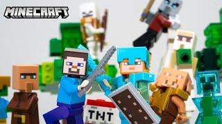 99일동안 만든 마인크래프트 스톱모션 이어보기 LEGO MineCraft stopmotion animation