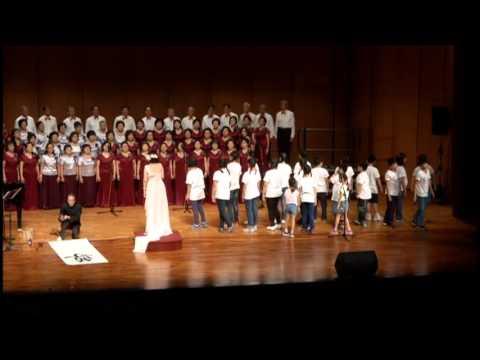 大合唱-老師 斯卡也達、師恩深 一生深、感恩的心 三首合唱曲