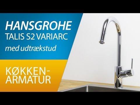 PRODUKT | Hansgrohe Talis S2 Variarc køkkenarmatur med udtrækstud