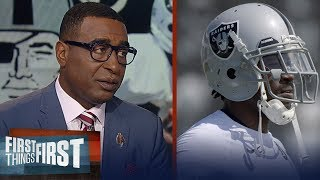 Cris and Nick react to Antonio Brown's helmet dispute & Gruden's support | NFL | FIRST THINGS FIRST