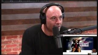 Joe Rogan Reacts to Trumpy Bear Commercial