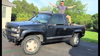 THE WORLD'S FIRST CONVERTIBLE OBS BLAZER!!! (The Way Chevy Should Have Made Them!)