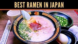 Best Ramen in Japan - Ichiran | TOKYO FOOD GUIDE