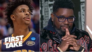 I like Ja Morant over Zion with the No. 1 overall pick - Lil Rel | First Take