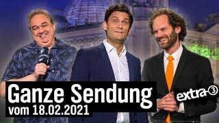 Extra 3 vom 18.02.2021 mit Christian Ehring im Ersten | extra 3 | NDR