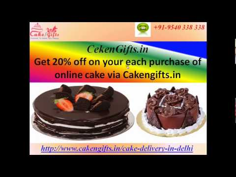 Online Cake Delivery in Local Areas of Noida via CakenGifts.in