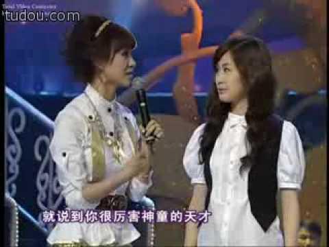张力尹 Zhang Li Yin on a show 1