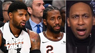 Stephen A. reacts to reports of friction within the Clippers' locker room | First Take