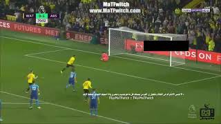 اهداف مباراة ارسنال و وواتفورد 1/1 الدوري الانجليزي 2017     -