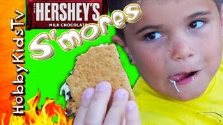 Hersheys S'MORES Kit Review with HobbyKidsTV