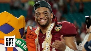 Tua Tagovailoa will be the top pick in the 2020 NFL draft - Todd McShay | Get Up!