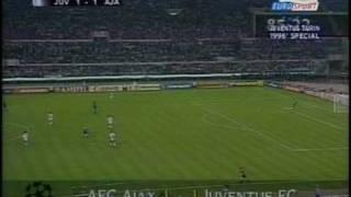22/05/1996 - Finale di Champions League: la Juventus batte l'Ajax