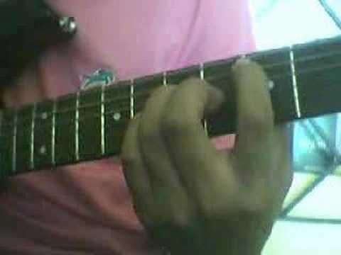 Te alabare Intro Guitarra