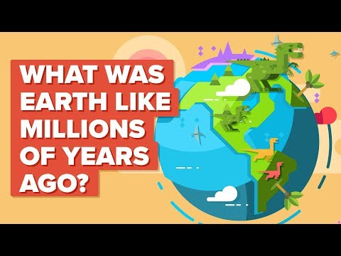 Earth Millions of Years Ago