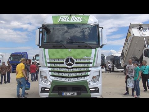 Mercedes-Benz Actros 1842 4x2 BlueTec 6 Fuel Duel (2016) Exterior and Interior in 3D