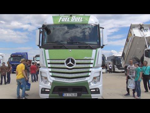Mercedes-Benz Actros 1842 4x2 BlueTec 6 Fuel Duel (2016) Exterior and Interior in 3D