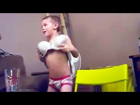 HILARIOUS KIDS Wearing Parent's Clothes - You CAN'T stop LAUGHING!