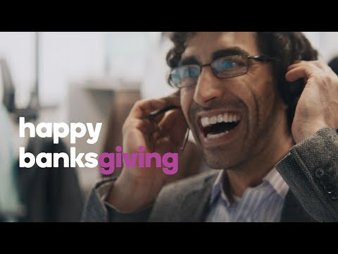 """A new video, """"Banksgiving,"""" shows what Ally Bank is truly thankful for this holiday season - its customers."""