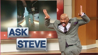 Ask Steve: Teach me how to dance || STEVE HARVEY