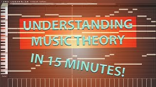 Music Theory 4 Dummies! (Learn basic music theory in under 15 MINUTES!)
