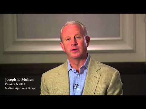 Joe Mullen, Madison Apartment Group for JBM Institutional Multifamily Advisors