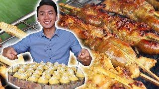 Món ăn đường phố NGON BỔ RẺ quanh Rừng Tràm Trà Sư |Du Lịch An Giang