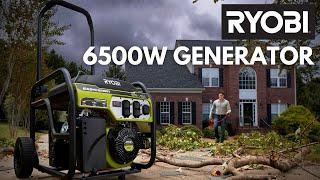 Video: 6500 Watt Generator with CO DETECT