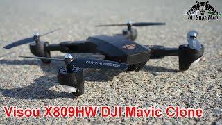 DJI Mavic Clone Visou X809HW Altitude hold wide angle Camera Drone