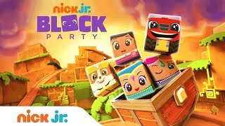 NEW Block Party: Golden Cube Adventure w/ PAW Patrol, Shimmer & Shine, & More! | Nick Jr.