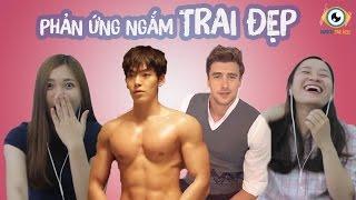 Phản ứng khi ngắm trai đẹp (Song Joong Ki, Lee Joong Suk, Kim Woo Bin, Chris Evan,...)