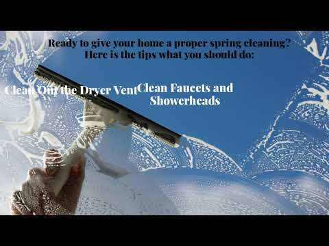 Important Tips to keep your Home clean in Spring