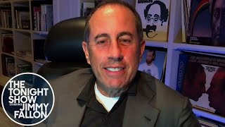 Jerry Seinfeld Critiques Jimmy's Seinfeld Impression
