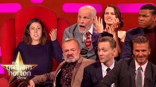 X Rated Red Chair | Sexy Stories on The Graham Norton Show